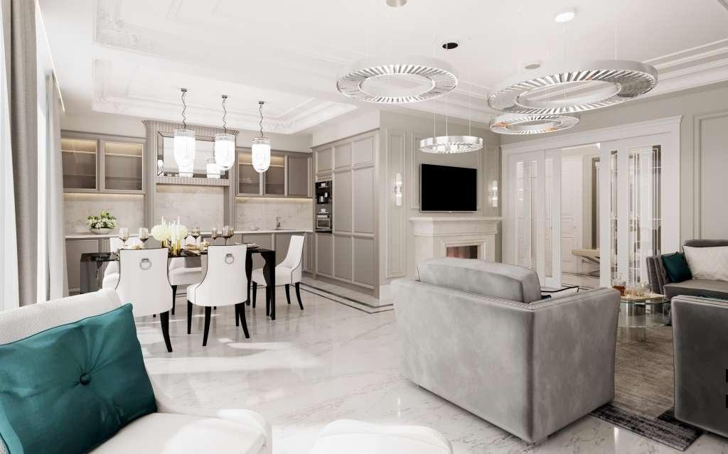 Дизайн интерьера квартиры: от перепланировки до сопровождения ремонта, Киев